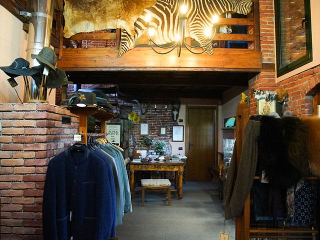 I prodotti della collezione country disponibili in negozio